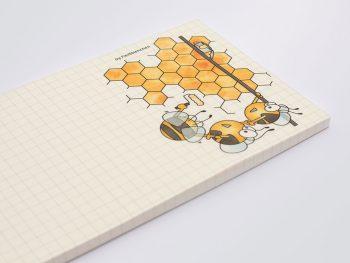 Fleißbienchen Notizblock »Wabenbau«