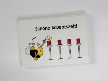 »Schöne Adventszeit« Postkarte