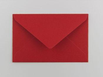 Umschlag Für Fleißkärtchen, Rosenrot