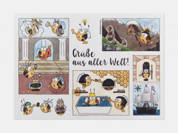 Grüße Aus Aller Welt, Postkarte