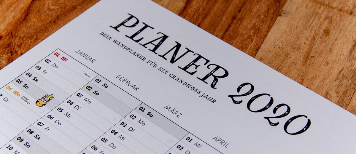 Fleißbienchen-Kategorie »Kalender«