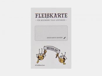 Mini-Fleißkarte, Stempelkarte