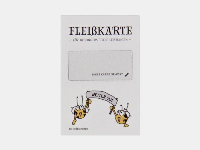 Fleißbienchen Mini-Stempelkarte