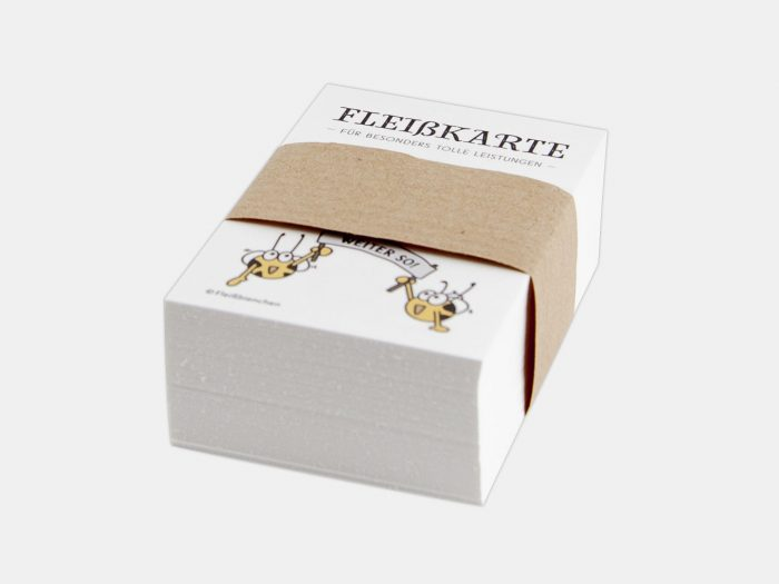 Fleißbienchen Mini-Stempelkarte, Box