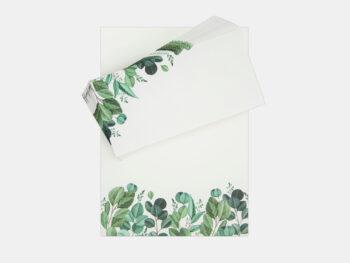 Blätter, Set (Schreibblock Mit Umschlägen)